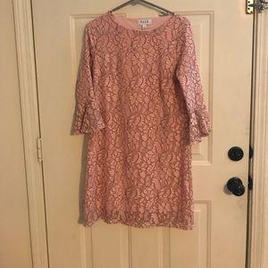 Pink Lace Elle dress